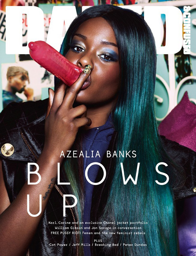 Dazed & Confused Sept 2012 - Azealia Banks