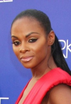 Look of the Day: Tika Sumpter's Red Marc Bouwer Gown