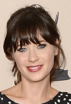 Look of the Day: Zooey Deschanel's Darling Dolce & Gabbana Polka Dot Dress