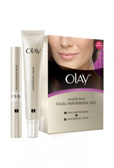 We Tried It: Olay Smooth Finish Facial Hair Removal Duo