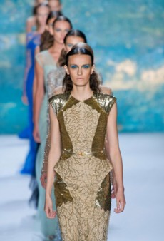 Monique Lhuillier Spring 2013 Runway Review
