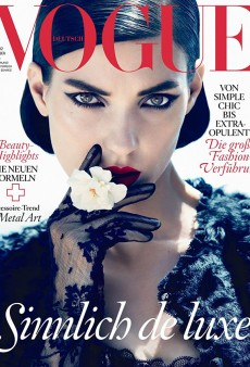 Vogue Germany's Stellar October Cover Featuring Kati Nescher (Forum Buzz)