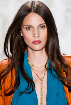 Rachel Zoe's No-Makeup Runway Look for Spring 2013