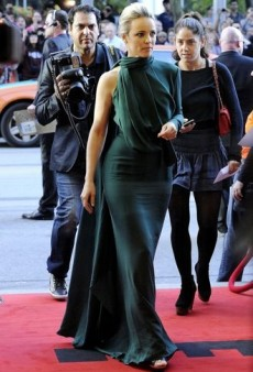 Rachel McAdams Glows in Gorgeous Green Elie Saab and Other Best Dressed Celebs of the Week
