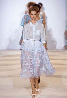 Temperley London Red Label Spring 2013 Runway Review
