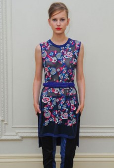 Pringle of Scotland Spring 2013 Runway Review