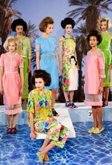Inside Tata Naka's Pool Party at London Fashion Week Spring 2013