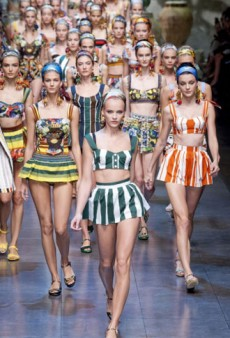 Dolce & Gabbana Spring 2013 Runway Review