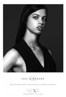 Lily McMenamy Might Be One of Hedi Slimane's PFW Exclusives