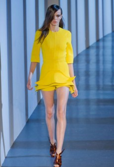 Mugler Spring 2013 Runway Review
