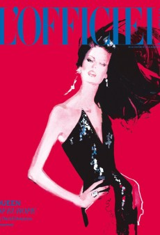 L'Officiel Italia Debuts With a David Downton Illustration on the Cover (Forum Buzz)