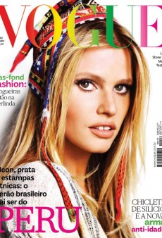 Lara Stone Covers Vogue Brazil's October Issue (Forum Buzz)