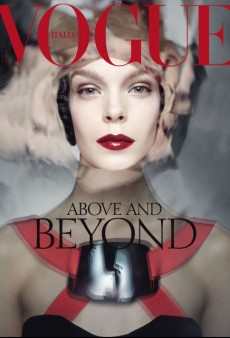 Meghan Collison is Above and Beyond on Vogue Italia's October Cover (Forum Buzz)
