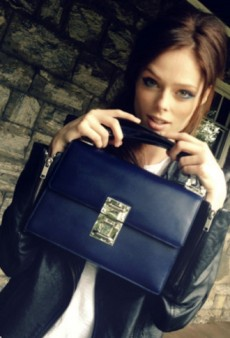 Coco Rocha Matches Her Bag to Her Eyeliner and Other Celeb Twitpics of the Week