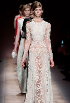 Valentino Spring 2013 Runway Review