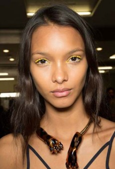 Bold Lips, Twisted Locks, Copper Lids and More Must-See Beauty from Paris