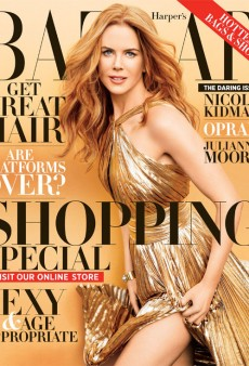 Nicole Kidman Goes for the Gold on Harper's Bazaar's November Cover (Forum Buzz)