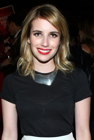 Emma Roberts Premiere Screening of FX American Horror Story Asylum After Party Hollywood cropped
