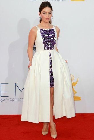 Emilia Clarke 64th Annual Primetime Emmy Awards Los Angeles Sept 2012 cropped