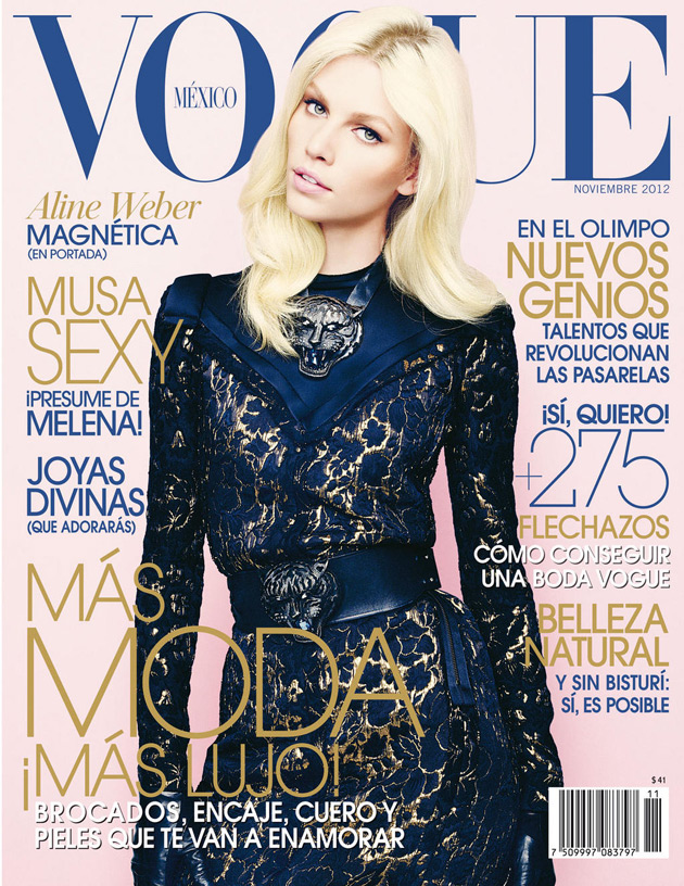 Vogue Mexico November 2012 - Aline Weber