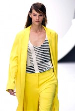 Look of the Day: Emma Stones Colorblock Stella McCartney Spring 2013 Silk Dress