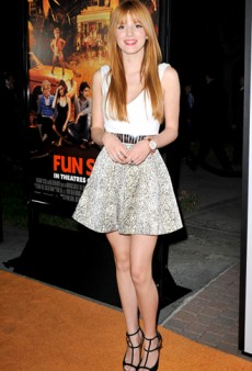 Get the Look: Bella Thorne Shakes It Up in Snakeskin