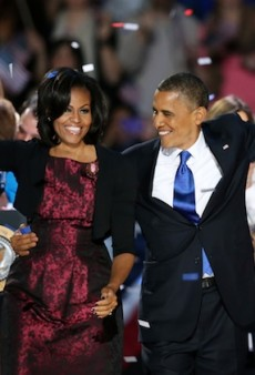 Only the Best First Lady in the History of First Ladies Would Shop Her Closet on the Night of President Obama's Reelection