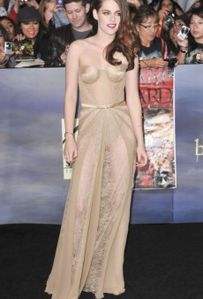 Kristen Stewart Wears the Ultimate Naked Dress