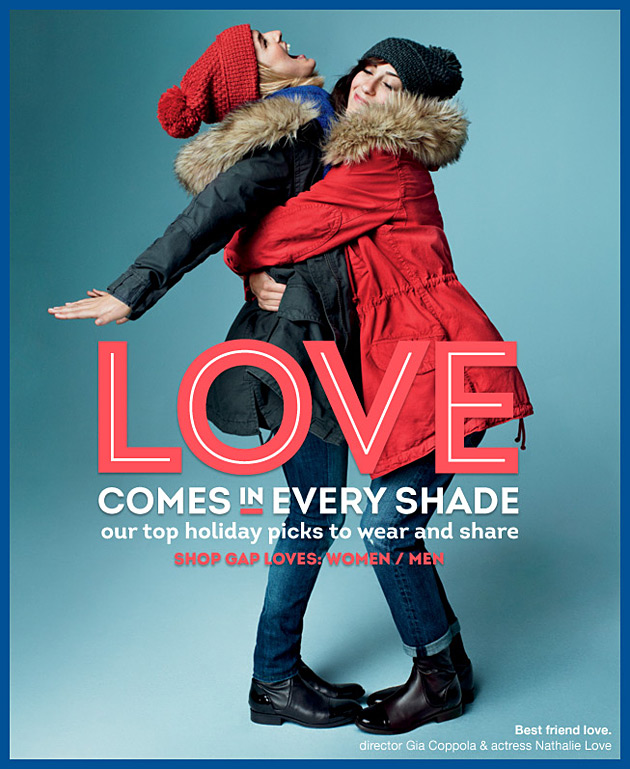Gap Holiday 2012