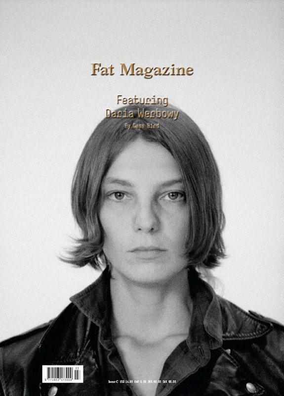 Fat Magazine Winter 2012 - Daria Werbowy photographed by Cass Bird