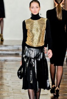 Heavy Metal Holidays: Metallic Looks for All Your Festivities