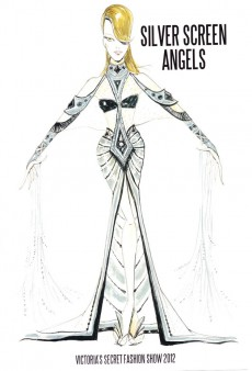 tFS Exclusive: Victoria's Secret Fashion Show Sketches