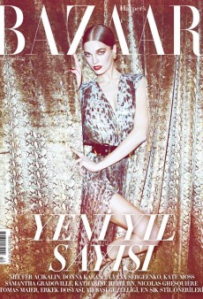 Samantha Gradoville Plays the Femme Fatale for Harper's Bazaar Turkey this December (Forum Buzz)