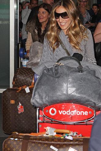 Sarah Jessica Parker airport