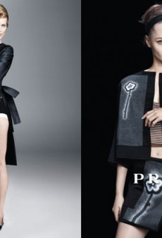 The Full Prada Spring 2013 Campaign Is Here Because Today Keeps Getting Better and Better