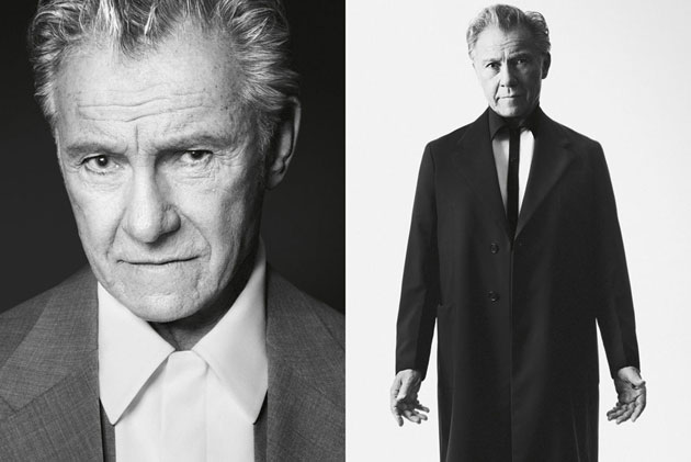 Prada Men's 2013 - Harvey Keitel photographed by David Sims