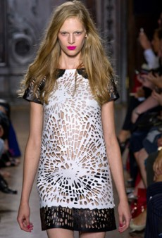 Spring 2013 Trend to Try Now: Laser-Cut Leather