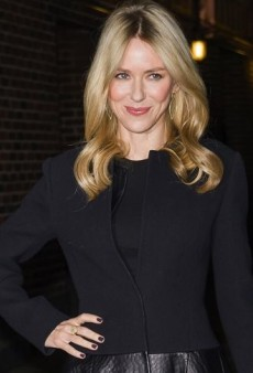 Look of the Day: Naomi Watts Visits Letterman in Calvin Klein and Christian Louboutin