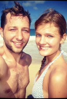 Derek Blasberg and Constance Jablonski Are St. Barths Beach Bums and Other Celeb Twitpics of the Week