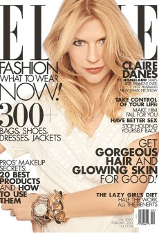 Claire Danes Has Crazy Eyes on the Cover of Elle's February Issue (Forum Buzz)