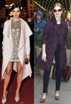 Coats for Every Occasion Inspired by Camilla Belle, Jessica Chastain and Katie Holmes