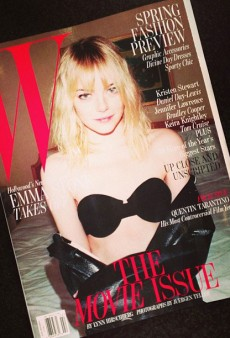 Juergen Teller Photographed Emma Stone for W's February Issue (Forum Buzz)