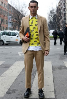 Street Style Bonanza From Outside the Fall 2013 Men's Collections