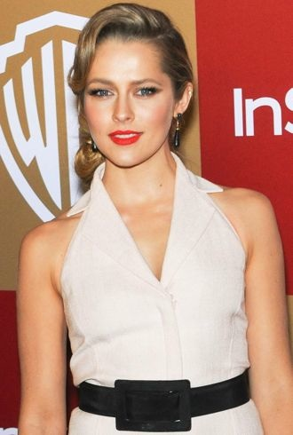 Teresa Palmer InStyle And Warner Bros Golden Globe After Party Los Angeles cropped