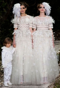 Chanel Haute Couture Spring 2013: Tweeds, Feathers and Less Than Stellar Florals