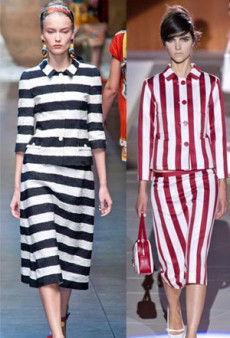 Spring Style Notes: Graphic Stripes