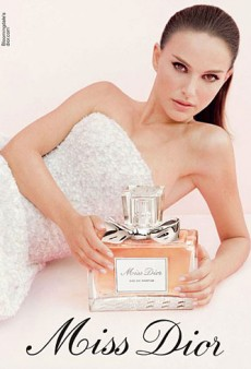 Natalie Portman's Hair is Too Severe in the New Miss Dior Chérie Fragrance Ad (Forum Buzz)