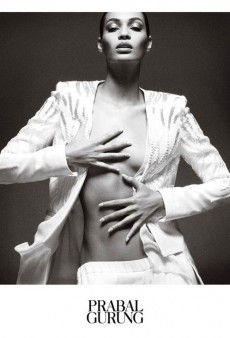 Joan Smalls is a Vision in Black and White in Prabal Gurung's Spring 2013 Ad Campaign (Forum Buzz)