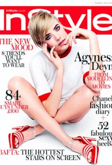 Agyness Deyn Covers InStyle: Is This What a Comeback Looks Like?