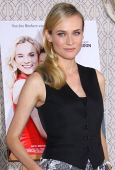 Look of the Day: Diane Kruger's Tailored and Tapered Stella McCartney Ensemble